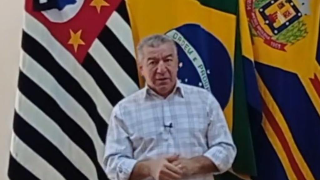 Restrições foram anunciadas pelo prefeito Dirceu Pano (PSDB) (Foto: Reprodução/Redes Sociais) - Foto: Reprodução