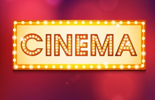 Cinema Internet - Logo retro cinema