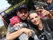 Ribeirão Moto Festival atrai até bebês ao mundo sobre duas rodas