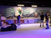 Pista de patinação no gelo e parque de neve estão de volta a Ribeirão