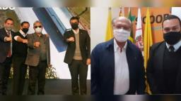 Tucanos e opositores na região de Ribeirão posam juntos