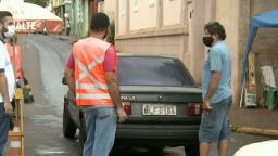 Rincão e Trabiju montam barreiras para evitar entradas de moradores da região