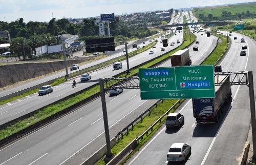 Divulgação - Rod Dom Pedro I, em Campinas. (Foto: Divulgação)