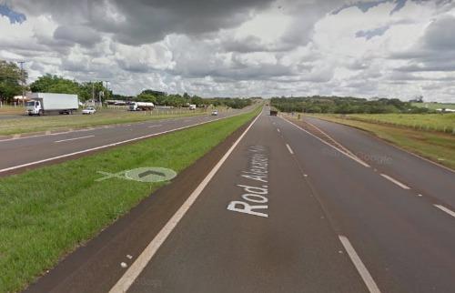 Rodovia Alexandre Balbo, onde motocilista morreu na madrugada deste sábado (23) - Foto: Outros