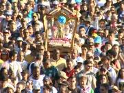 Romaria de Nossa Senhora Aparecida ocupa as ruas de Ribeirão
