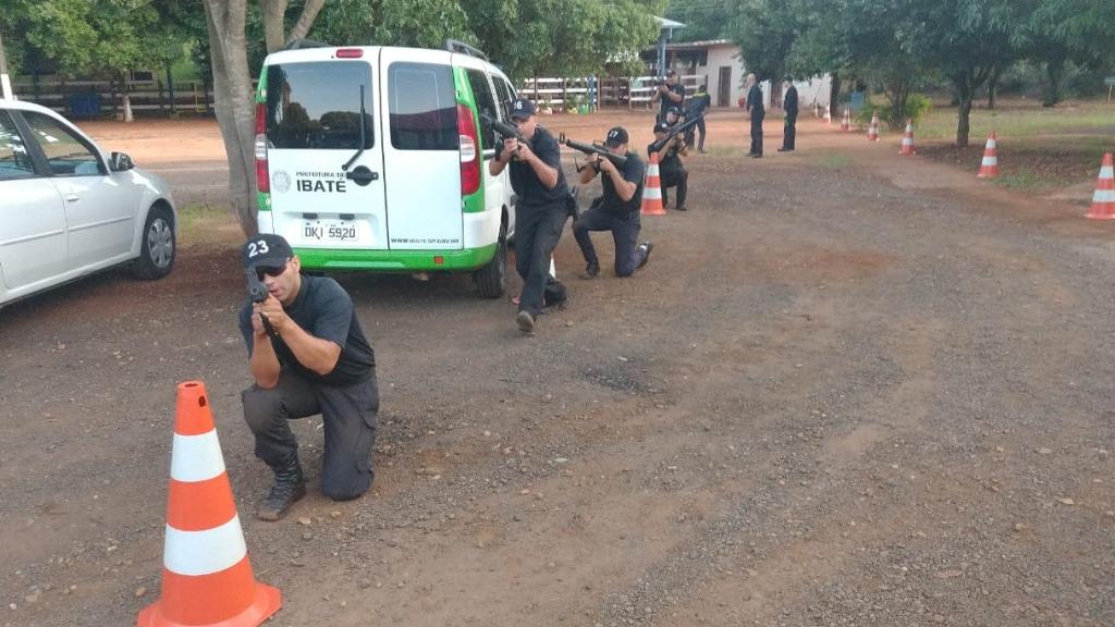 Guarda Municipal de Ibaté participa de Curso de Patrulhamento Tático ROMU - Foto: Divulgação