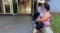 Rosa, 72, acordou cedo para exercer o direito de votar