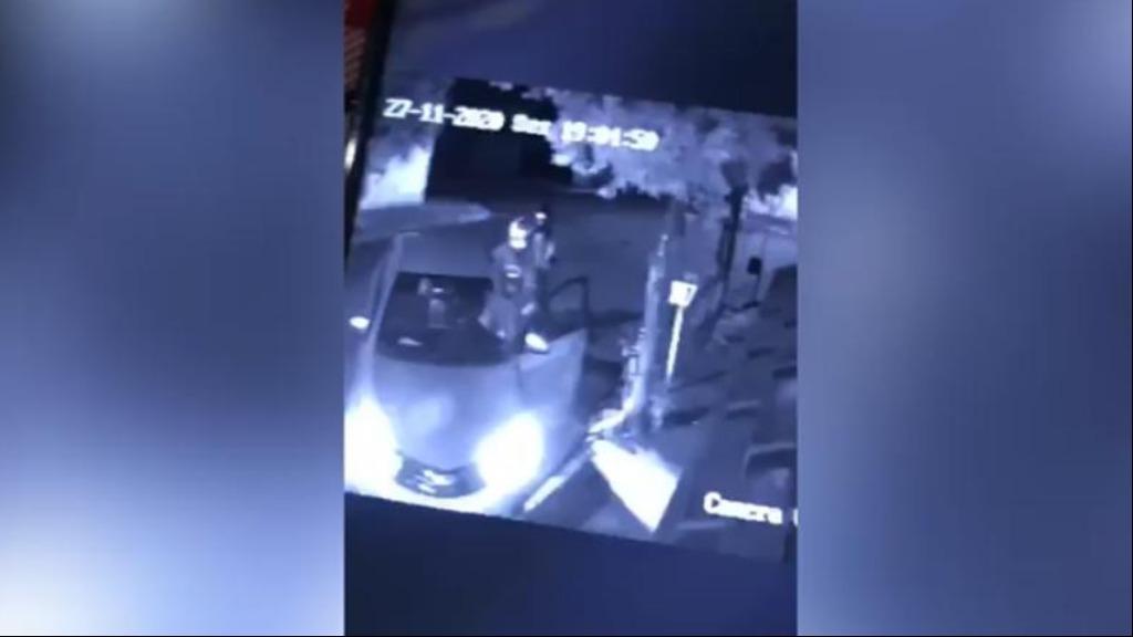 Assista ao vídeo do crime, ocorrido na noite desta sexta (27), em Aramina (Imagem: Reprodução / Câmeras de segurança) - Foto: Divulgação / Redes Sociais