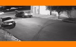 Vídeo: Vítima reage a assalto e dá voadora em carro roubado