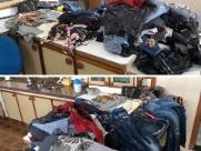Casal é preso após furtar roupas e celular em loja no Centro