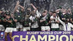 África do Sul vence a Inglaterra e é tricampeã mundial de rúgbi