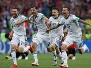 Rússia bate Espanha nos pênaltis e vai às quartas de final