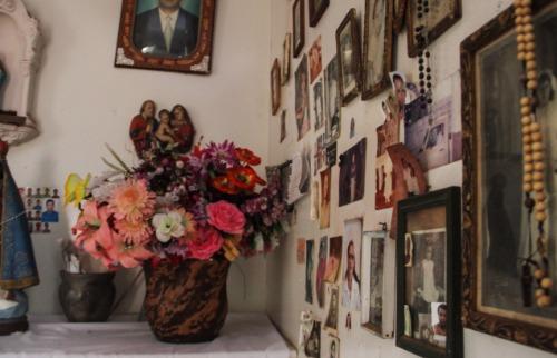 Sala dos Milagres, no cemitério das Cruzes, em Araraquara (Foto: Amanda Rocha) - Foto: Da reportagem