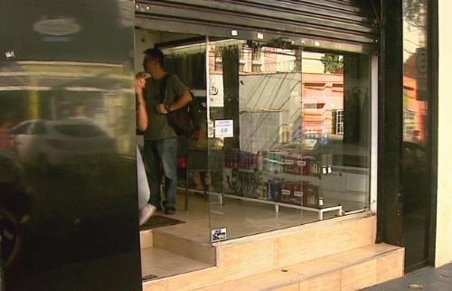 Reprodução EPTV - Duas vítimas foram socorridas com queimaduras no corpo em salão na rua Barão do Amazonas