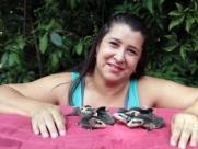 Campineira acha 7 gambás filhotes, pede ajuda para internet e eles sobrevivem