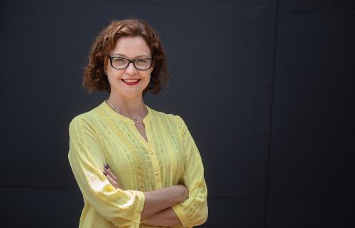 Jornalista Sandra Lambert, chefe de redação das rádios CBN Ribeirão e Araraquara (Foto: Weber Sian / ACidade ON) - Foto: ACidade ON - Ribeirão Preto