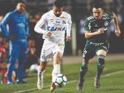Palmeiras sai na frente, mas Santos busca empate