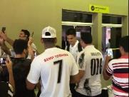 Adversário do Botafogo, Santos chegou em Ribeirão nesta terça (19)