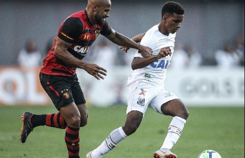 Santos venceu o Sport por 3 a 0 (Foto: Ricardo Nogueira/FotoFC/Folhapress) - Foto: (Foto: Ricardo Nogueira/FotoFC/Folhapress)