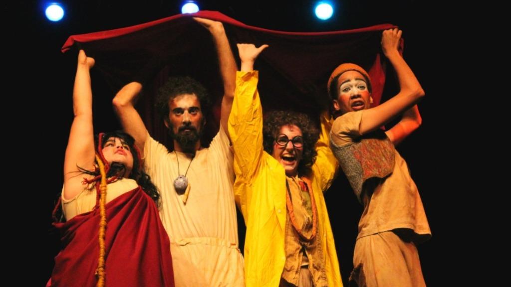Companhia Espelunca de Teatro apresenta comédia no Sesc São Carlos. Foto: Divulgação - Foto: Divulgação