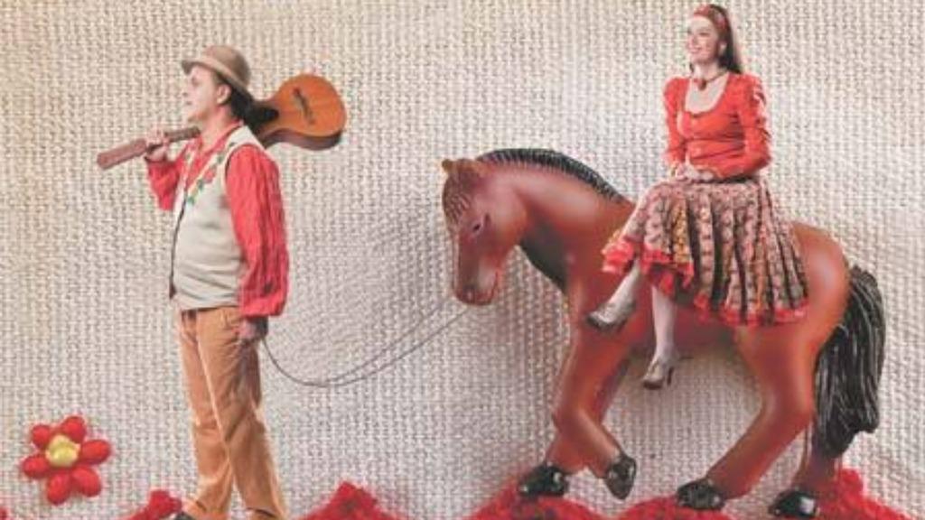Sesc apresenta peça musical sobre canções e brinquedos roceiros. Foto: Divulgação - Foto: Divulgação