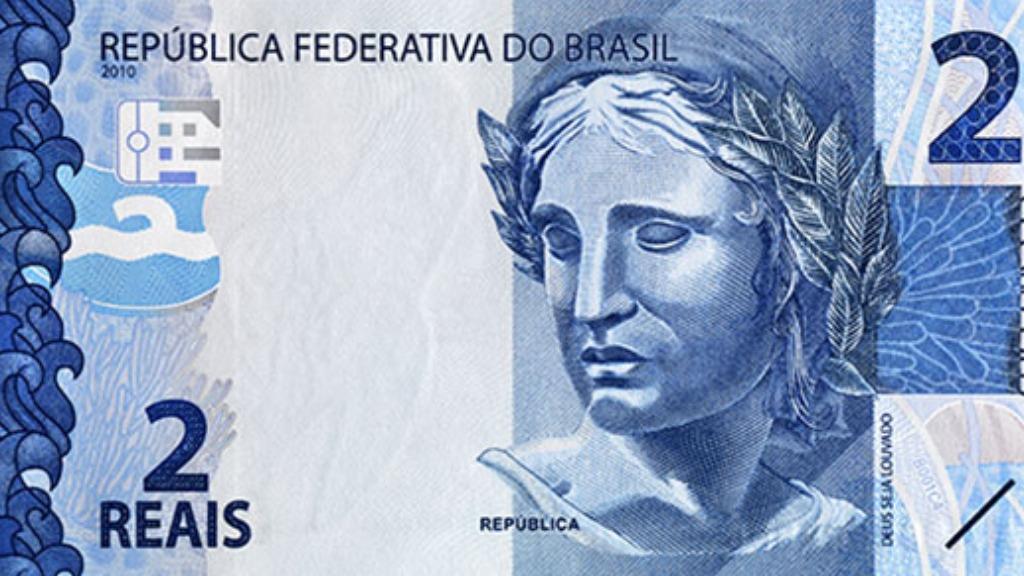 Nota de R$ 2. Foto: Banco Central - Foto: DIVULGAÇÃO
