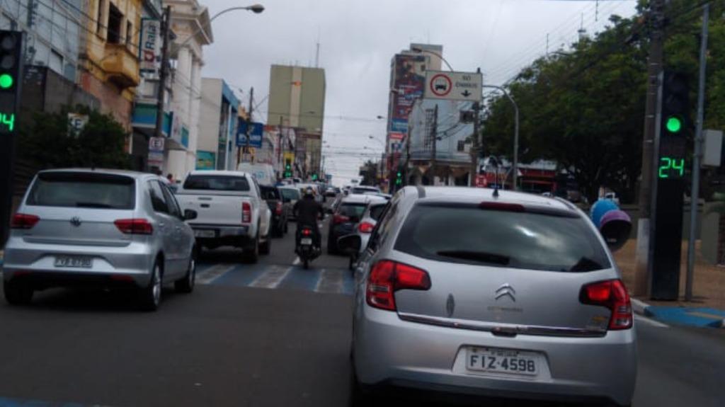 Manifestação percorreu ruas do Centro em São Carlos  - Foto: divulgação - Foto: ACidade ON - São Carlos
