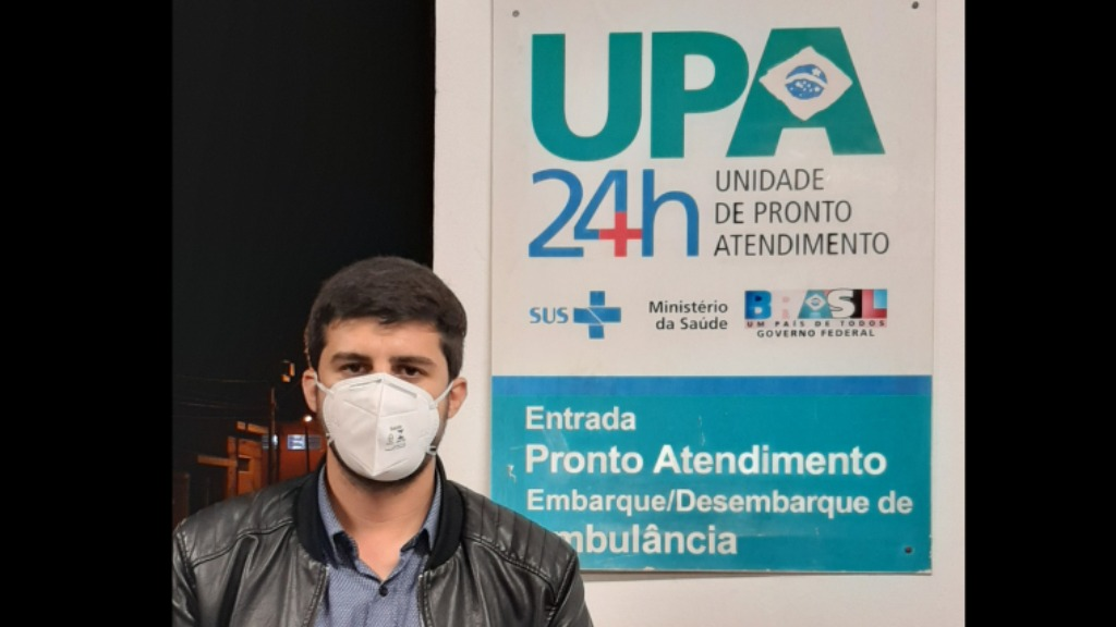 Bruno Zancheta (PL) sugeriu locais para vacinação em São Carlos. Foto: Divulgação / Santa Casa - Foto: DIVULGAÇÃO