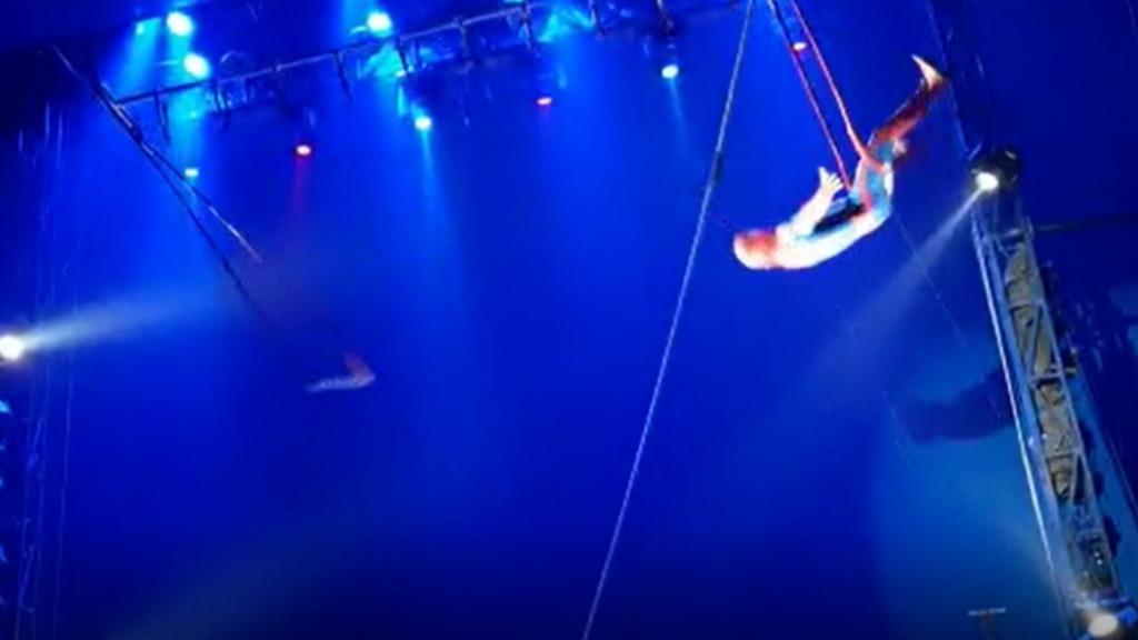 trapezista cai durante apresentação de circo em São Carlos - foto: reprodução - Foto: ACidade ON - São Carlos