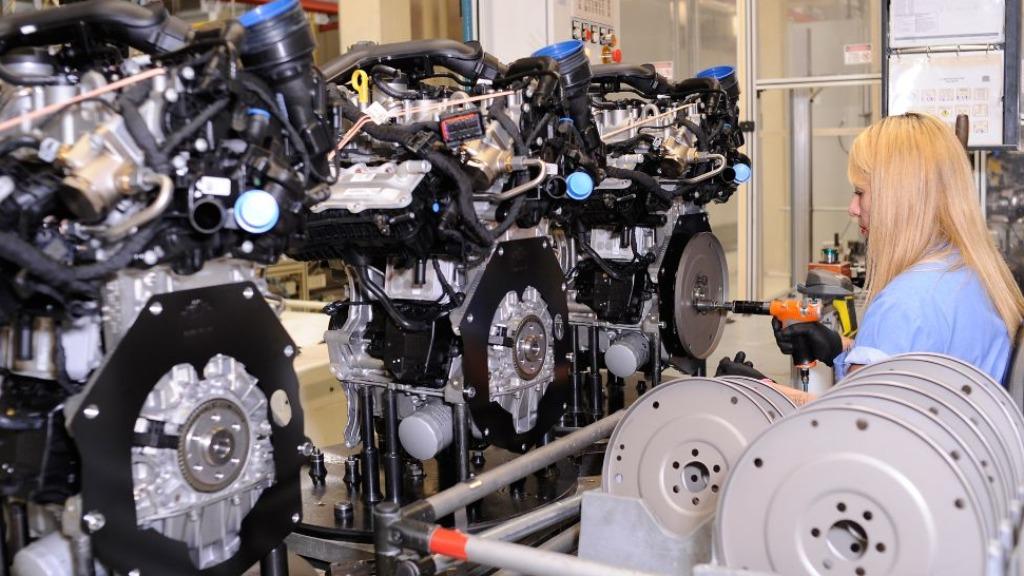 Motores de automóveis é o principal produto da pauta de exportação de São Carlos (SP). Foto: Divulgação / Volkswagen - Foto: DIVULGAÇÃO