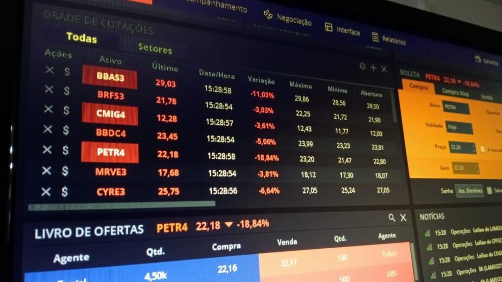 Bolsa tem forte queda impulsionada pelas falas de Bolsonaro. Foto: Bruno Moraes / ACidade ON - Foto: ACidade ON - São Carlos