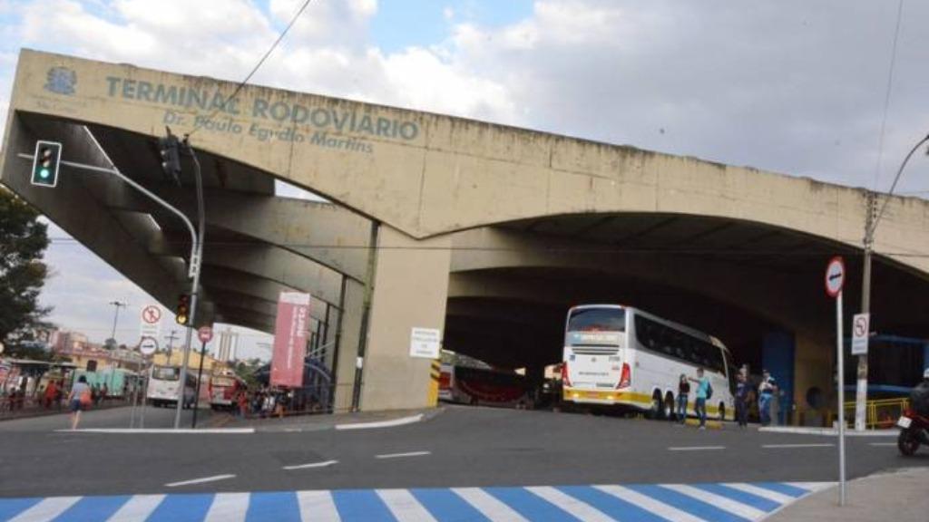 Região do Terminal Rodoviário em São Carlos (SP). Foto: Reprodução - Foto: ACidade ON - São Carlos