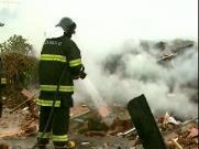 """""""Parecia filme de terror"""", diz moradora sobre incêndio em ecoponto"""