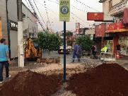 ACISC e Prefeitura iniciam obras de revitalização do calçadão