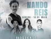 Nando Reis e Melim se apresentam em São Carlos