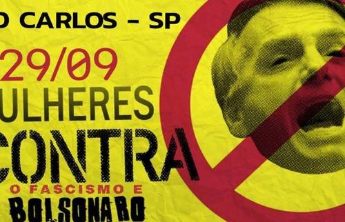 São Carlos terá manifestação contra Jair Bolsonaro no dia 29 - Foto: ACidade ON - São Carlos