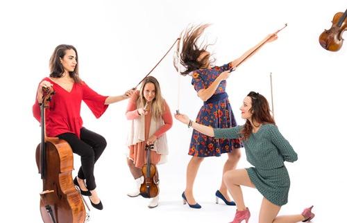 Foto: Quatuor Zaide - Jérémie Sangare - Foto: ACidade ON - São Carlos