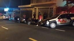"""""""Moralização"""" fiscaliza escapamento de motos, bares e pancadões"""