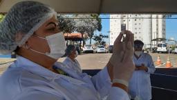 São Carlos já tem quase 20% da população vacinada