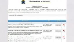 Câmara Municipal abre consultas públicas para população