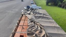 Polícia apreende madeira irregular durante operação na SP-310