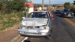 Gestante e crianças se envolvem em acidente de trânsito em São Carlos