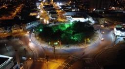 Rotatórias receberão nova iluminação na Rua Miguel Petroni