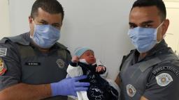 Polícia ajuda em trabalho de parto na Vila Boa Vista