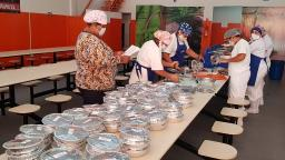 Restaurantes populares iniciam entrega de marmitex a R$ 1