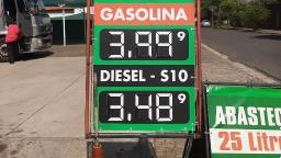 Aumento no preço da gasolina ainda não chegou a São Carlos