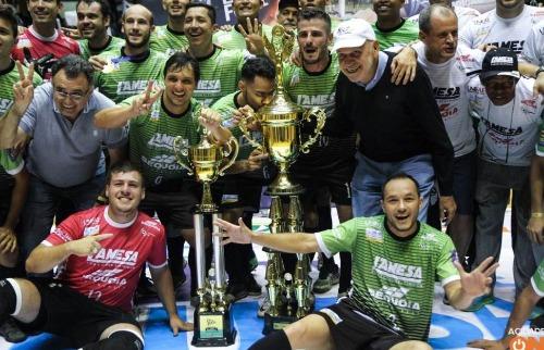 ACidade ON - São Carlos - São João da Boa Vista conquista o heptacampeonato da Taça EPTV de Futsal