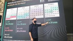 Saiba novas datas de vacinação contra covid-19 em São Paulo