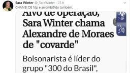 VÍDEO: Ativista de São Carlos ameaça Alexandre de Moraes