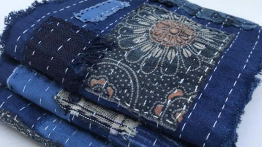 Sashiko Boro é uma técnica de bordado japonesa (Foto: Divulgação) - Foto: Divulgação